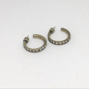 Lunette Hoop Earrings